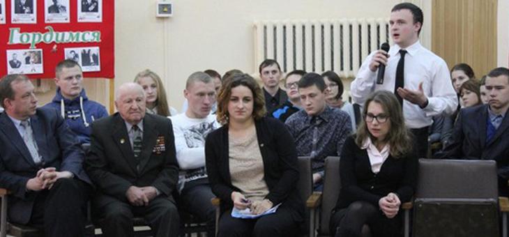 В Марьиногорском аграрно-техническом колледже прошел молодежный форум «Мы, молодые, — надежда страны»